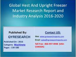 32-Hest and Upright Freezer Market 2016 Industry Growth, Analysis and Forecast Globally by 2020