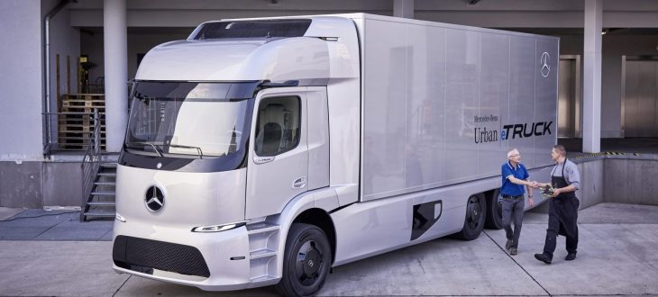 32-Mercedes Benz Launches Electric e-Truck